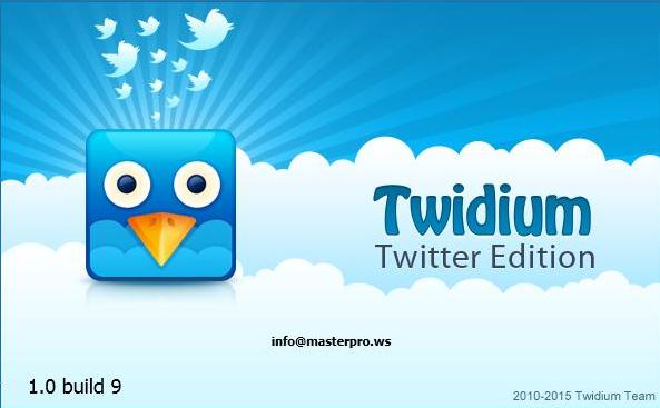 Twidium Twitter Edition