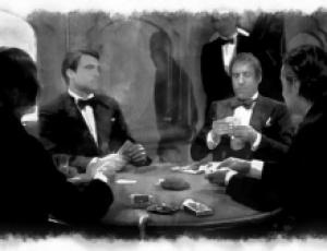 Poker. Autumn Melancholy